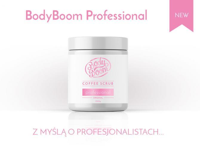 kosmetyk profesionalny do gabinetów spa oraz salonów kosmetycznych w dużym, białym słoiku