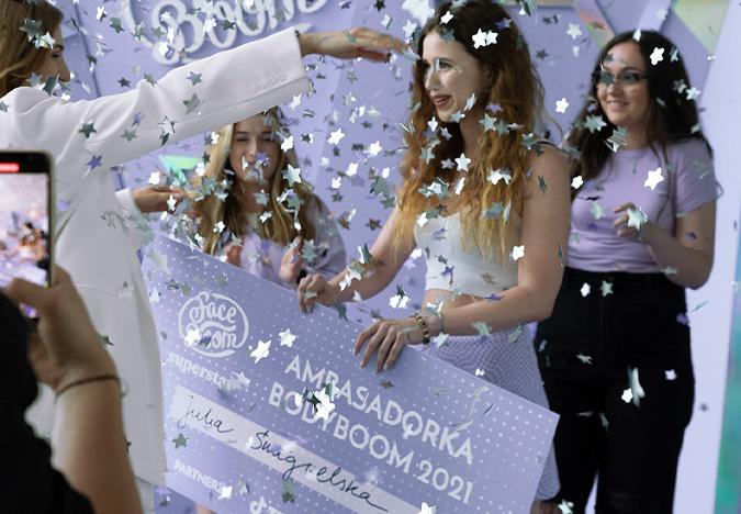 Julia Śmigielska wygrywa finał konkursu ambasadorka marki BodyBoom