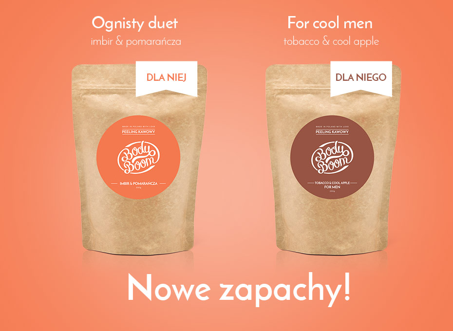 Nowe BOOMboowe zapachy! Ognisty Duet i For Cool Men!