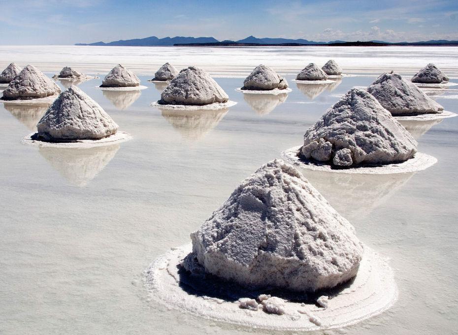 bryła soli jeziorowej