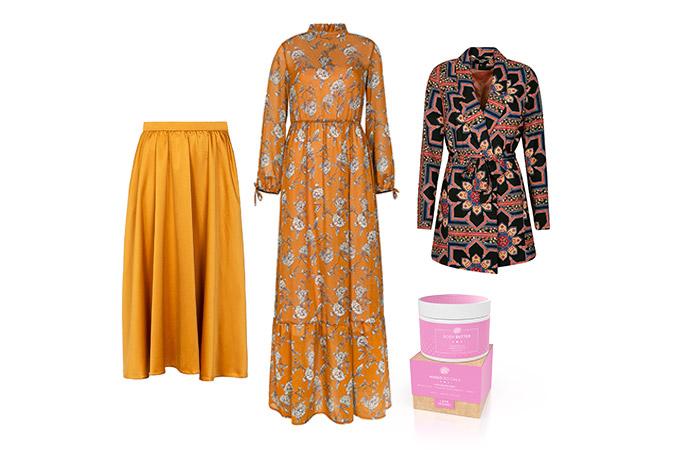 Zestaw ubrań z nowej kolekcji