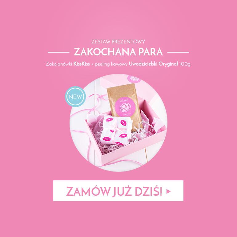 Zestaw kosmetyków i zakolanówek dla dziewczyny