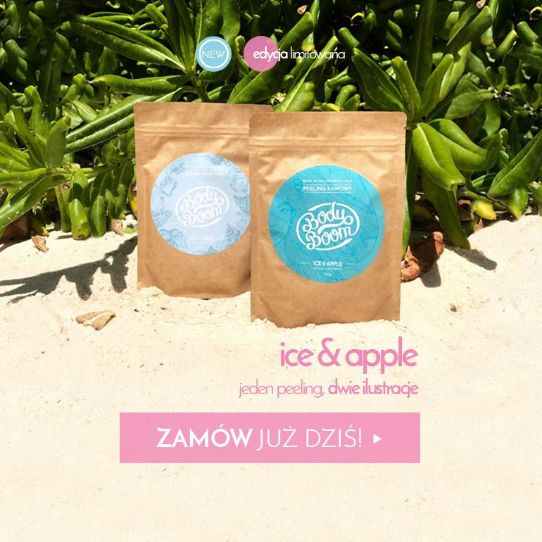 peeling kawowy Ice&Apple