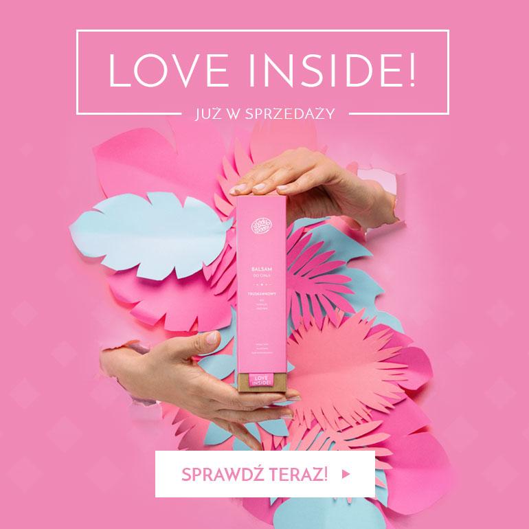 LOVE INSIDE już w sprzedaży!
