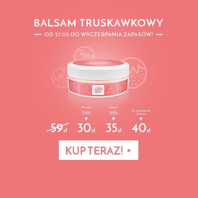 Balsam Truskawkowy Kusiciel.