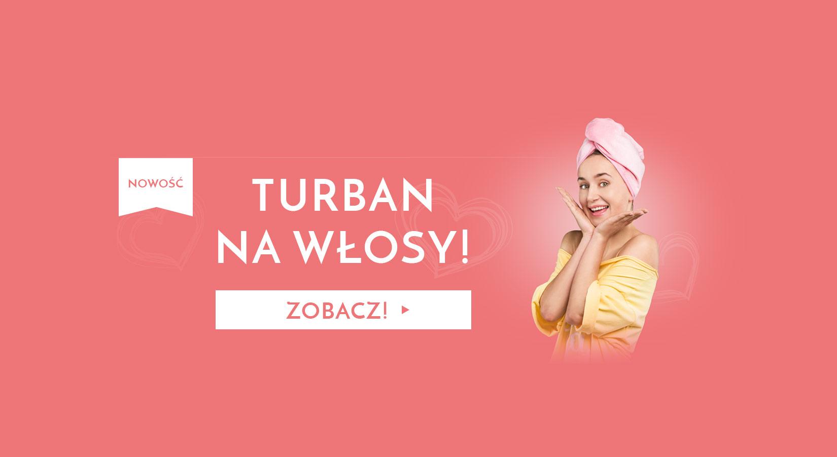 Turban na włosy
