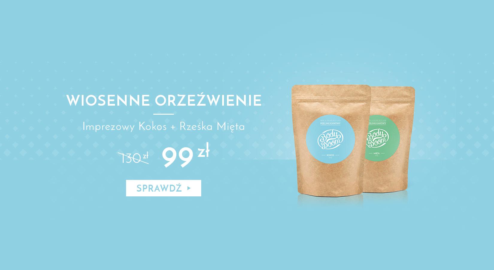 WIOSENNE ORZEŹWIENIE - Imprezowy Kokos + Rześka Mięta