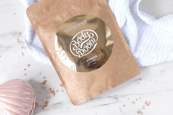 peeling kawowy rozświetlający skórę